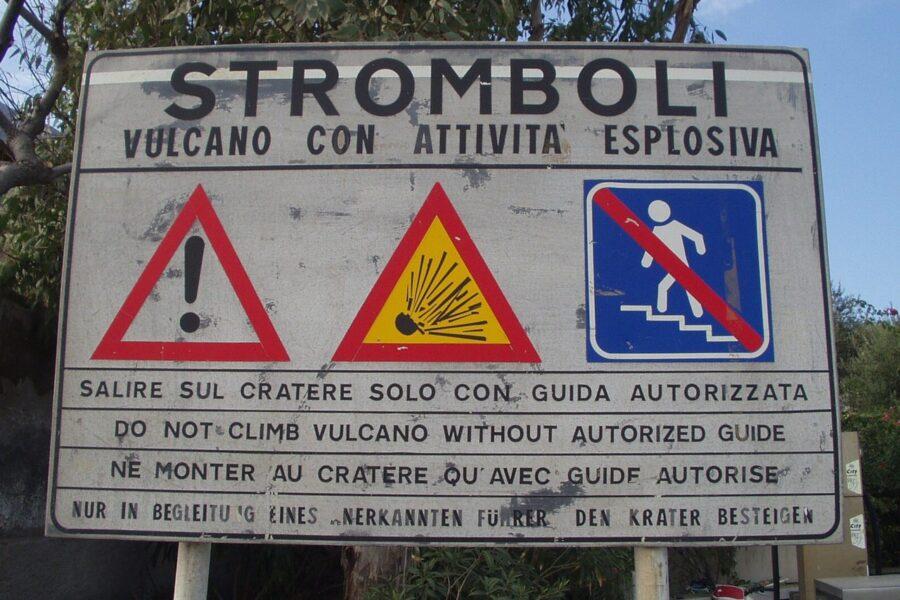 Stromboli, arriva il sistema di allerta per anticipare le eruzioni più pericolose
