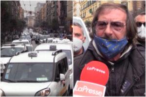 """Napoli, tassisti contro De Luca: """"Oltre 20 colleghi morti per portare contagiati in ospedale, vaccino e bonus"""""""