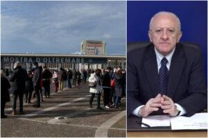 """""""La Campania produrrà il vaccino anti-Covid"""", De Luca annuncia il progetto entro luglio"""