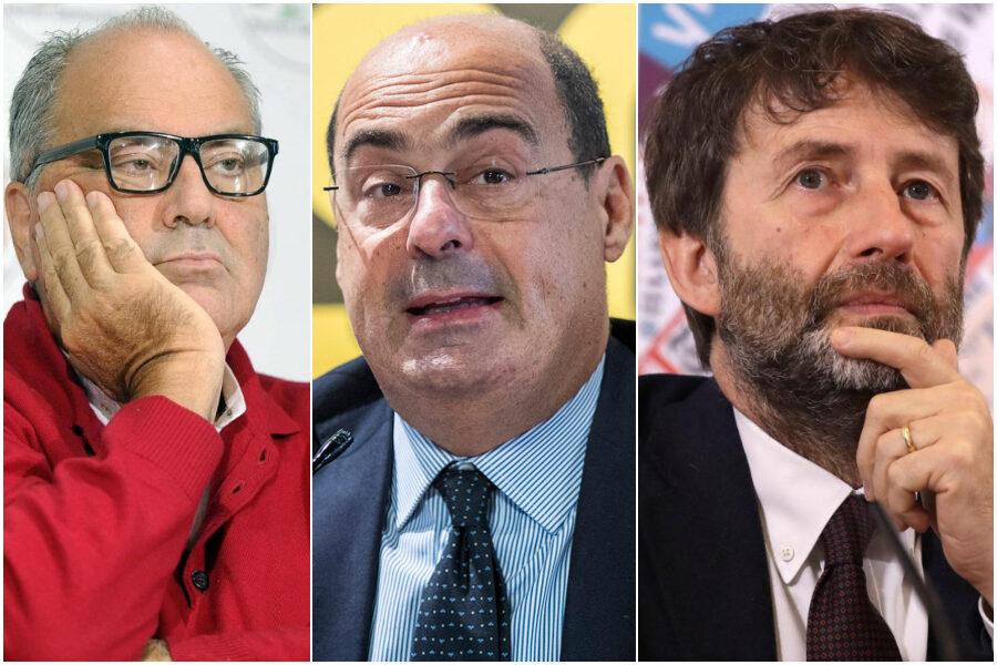 """Dietro l'addio di Zingaretti i diktat di Franceschini e Bettini: """"Sosteniamo Raggi e Fico con i 5Stelle"""""""
