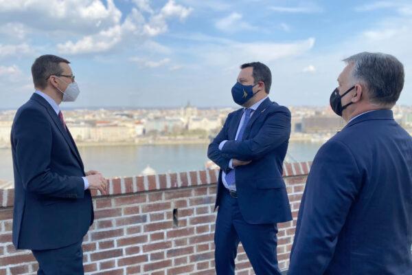 Salvini cerca casa a Bruxelles e lancia Rinascimento Europeo per smarcarsi da Meloni e Giorgetti