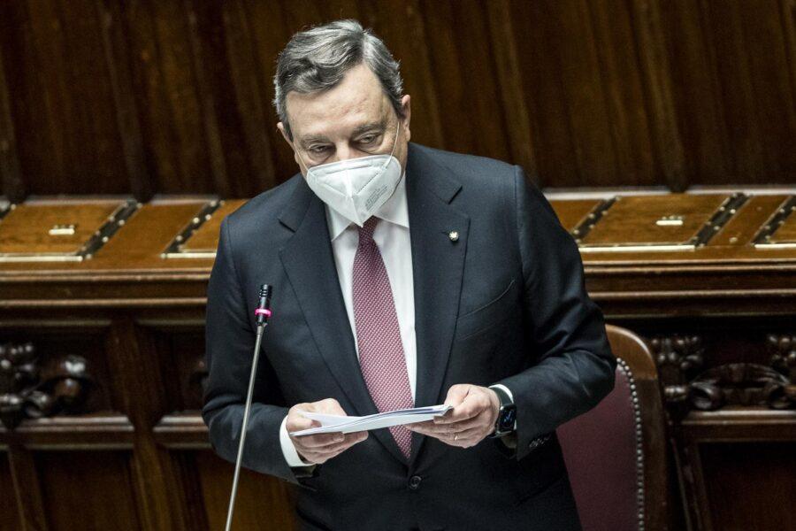 """Recovery, Draghi presenta il Pnrr: """"In ballo il destino del Paese e la sua credibilità, no a ritardi"""""""
