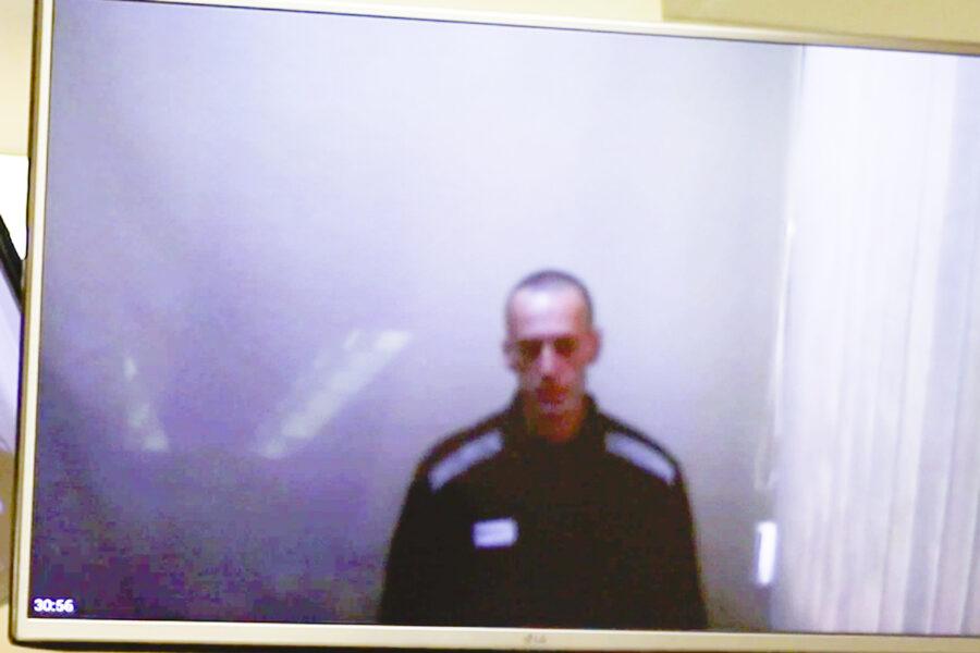 """Prime immagini di Navalny dall'inizio dello sciopero della fame: """"Sembravo uno scheletro inquietante"""""""