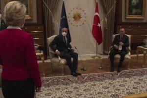 """Von der Leyen sul Sofagate: """"Mi sono sentita sola come Presidente, donna ed europea"""""""