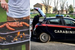 Festa al ridottante e braciata nel bosco: multe per oltre 50 persone nel Napoletano