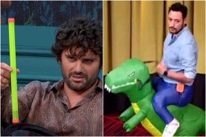 Lol chi ride è fuori, dal bastone verde di Matano al dinosauro cavalcabile di Ciro: tutti i gadget andati a ruba