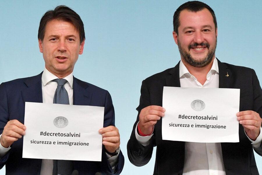 """La bugie di Conte sui migranti: """"Con me porti mai chiusi"""""""