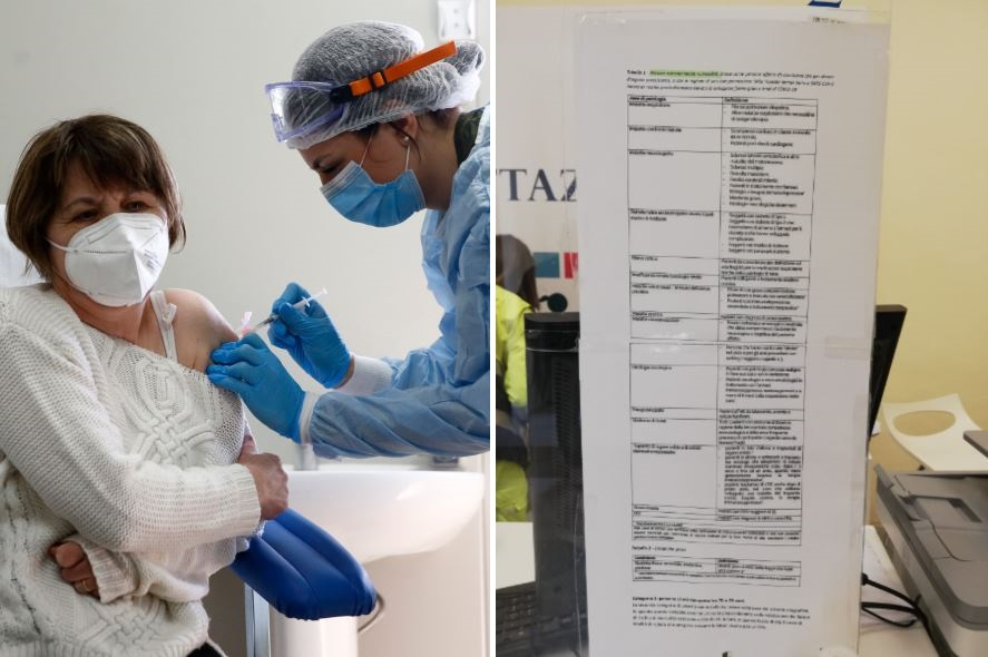 Pazienti fragili e conviventi, chi ha diritto a vaccinarsi: l'elenco delle patologie