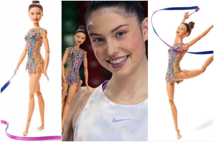 Chi è Milena Baldassarri, la ginnasta italiana che è diventata una Barbie