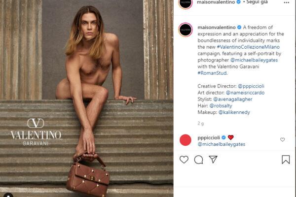 Chi è Michael Bailey-Gates, il modello di Valentino insultato dagli haters