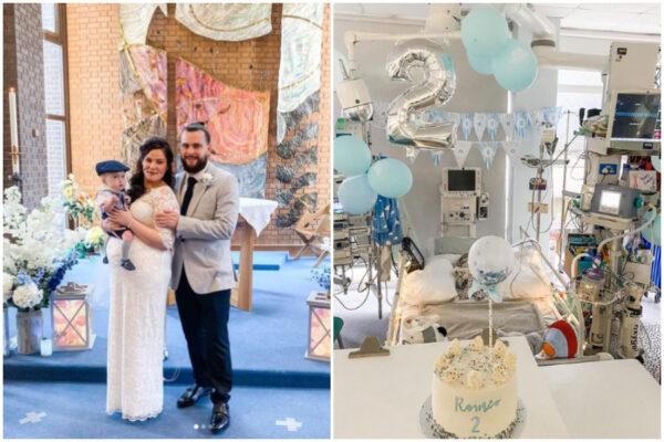 Figlio in attesa di trapianto, i genitori si sposano in ospedale
