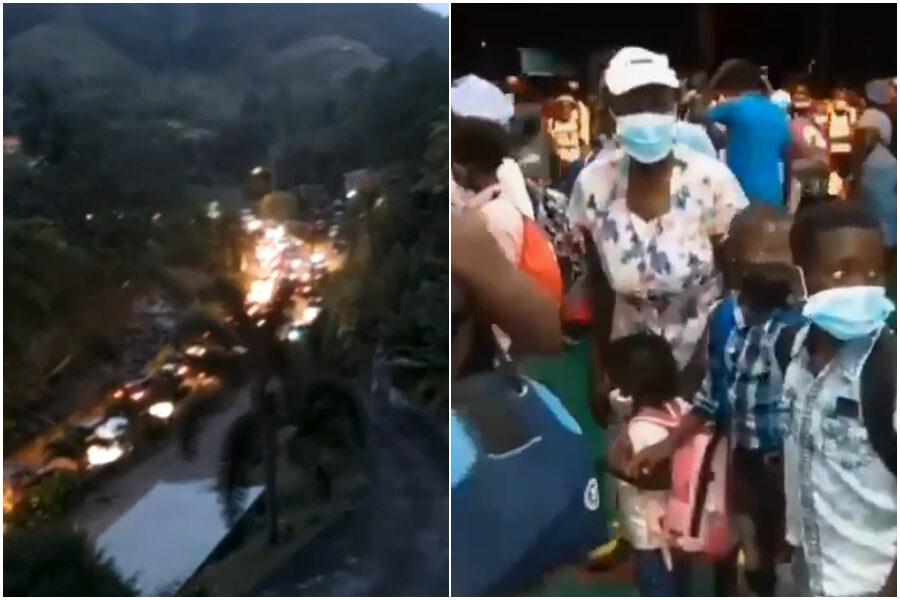 Isola di St. Vincent, attesa esplosione del vulcano La Soufrière: evacuate 7 mila persone