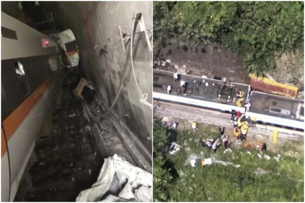 Strage a Taiwan: deraglia treno ad alta velocità, 48 morti e 66 feriti