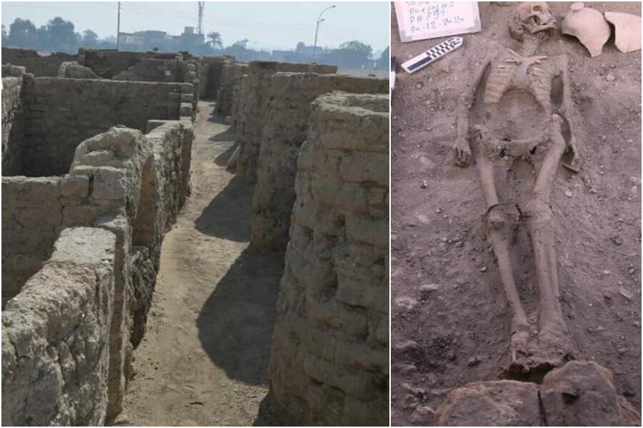 Egitto, scoperta città di 3mila anni fa: il più importante ritrovamento dopo Tutankhamon