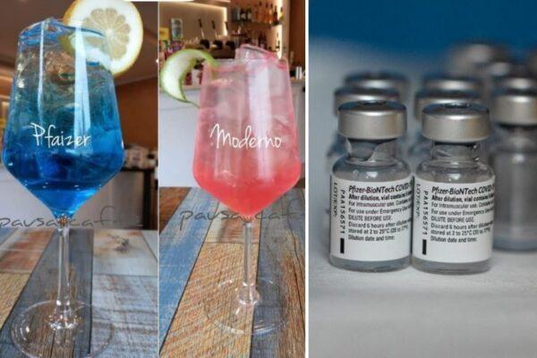 Drink chiamati come i vaccini, l'ultima trovata a Napoli per esorcizzare il Covid