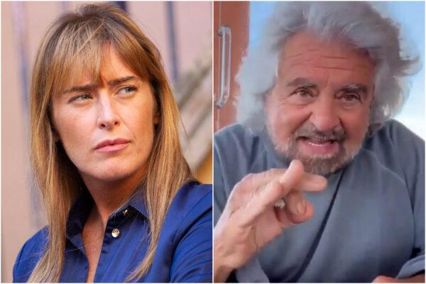 """Su Grillo la furia della Boschi: """"Si vergogni, fa un torto alle donne"""""""