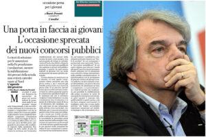 Concorsi pubblici: Boeri e Perotti criticano Brunetta, ma si sbagliano