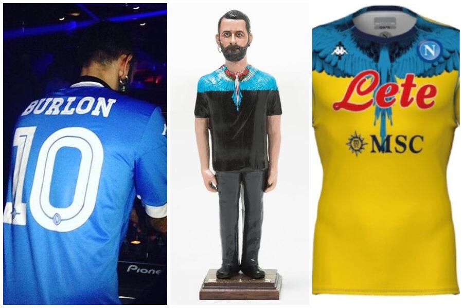 Il legame di Marcelo Burlon con Napoli, lo stilista innamorato di Maradona e della città