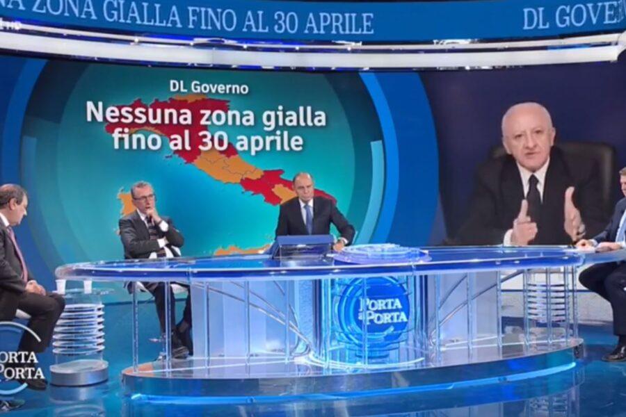 """Vaccino Sputnik in Campania, De Luca non molla: """"Contratto per 3,5 milioni di dosi, costerà 8 dollari"""""""