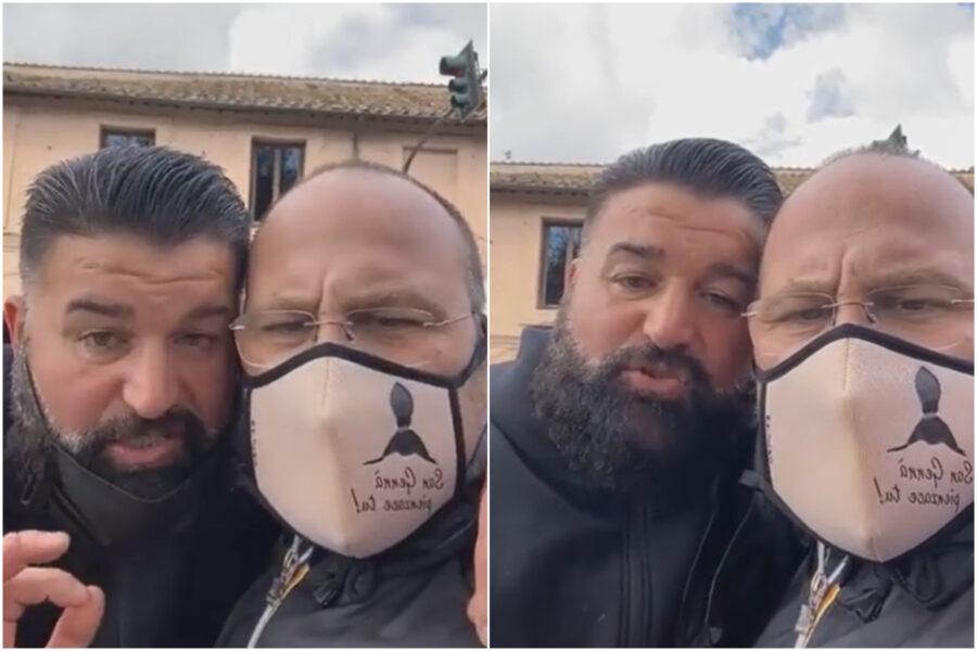 Da Pianura al Circo Massimo, la marcia pacifica di Peppe Di Napoli per protestare contro le chiusure