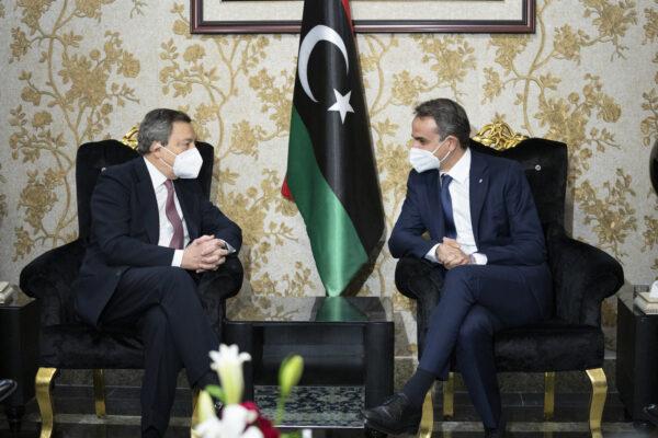 Draghi a Tripoli per tutelare l'interesse nazionale