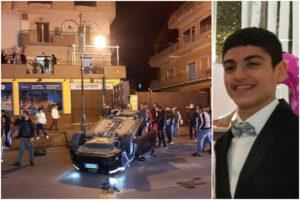 Sorpasso azzardato e velocità folle, sabato sera drammatico: muore ragazzino di 16 anni