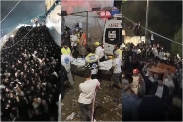 Disastro in Israele, pellegrini schiacciati dalla calca a un raduno religioso: 44 morti e 150 feriti