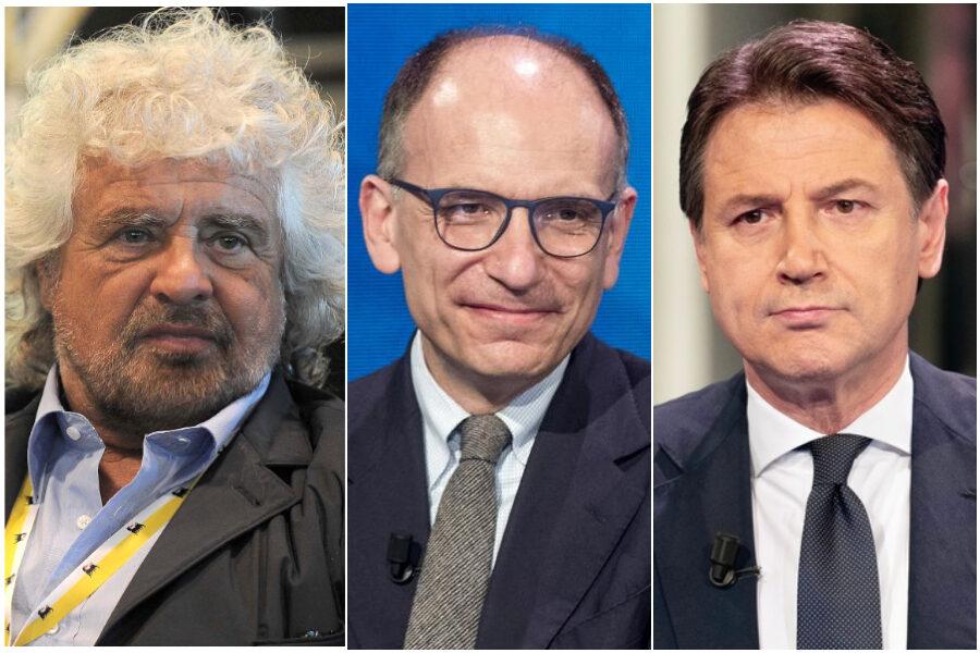 Che pena il Pd, passato da Marx e Proudhon a Grillo e Conte…