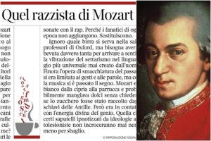 """Mozart """"razzista"""", la bufala sul compositore censurato da Oxford ripresa da Gramellini (e altri giornali italiani)"""