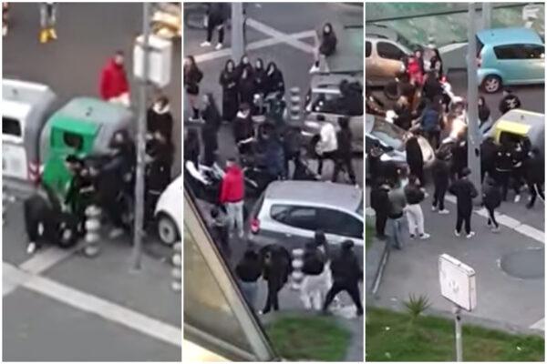A Napoli le baby-paranze hanno trovato un nuovo campo di battaglia: mazzate e residenti ostaggio