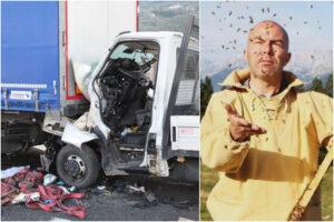 Morto Andrea Paternoster, il 're del miele' coinvolto in un drammatico incidente contro un camion