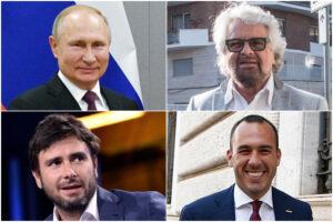 Russiagate in salsa 5 Stelle: così Grillo, Di Battista e Di Stefano hanno costruito l'asse con Roma-Mosca