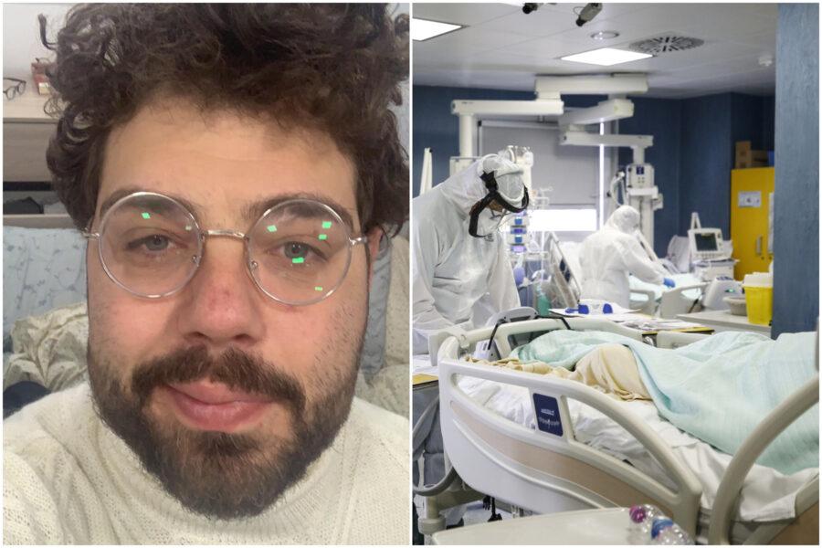 """Raffaele gira tre ospedali e batte il covid: """"Ho visto tanti giovani che non ce l'hanno fatta"""""""