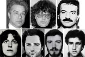 I 9 rifugiati politici in libertà vigilata, resta latitante Maurizio Di Marzio
