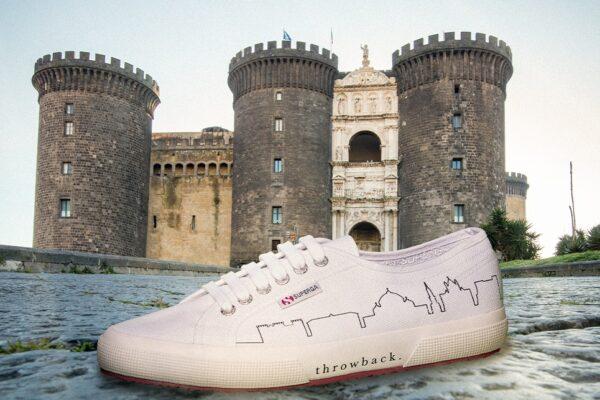 I monumenti di Napoli sulle scarpe Superga: da Piazza Plebiscito al Maschio Angioino, lo skyline cittadino diventa moda