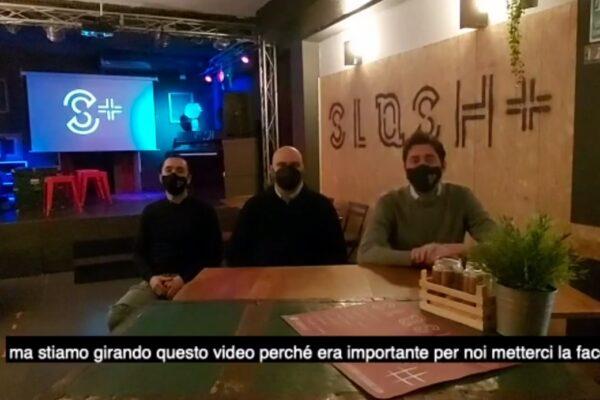Proprietari di un locale di Napoli chiedono sostegno, Support Slash Plus
