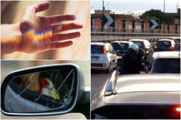 """""""Guarda che mi hai fatto mentre guidavi…"""", dalla truffa dello specchietto a quella della mano insanguinata"""