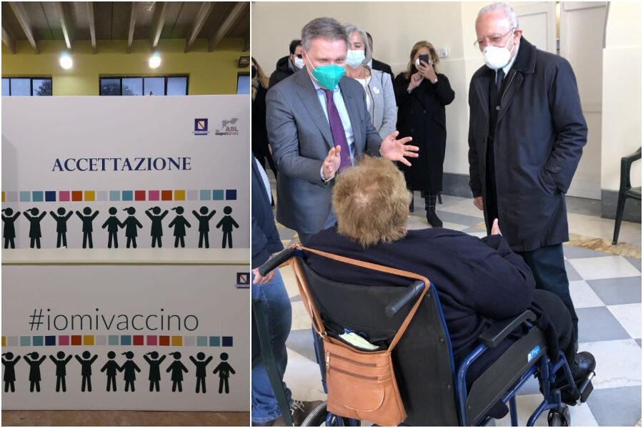 Campania, al via le prenotazioni per la fascia d'età 50-59 anni