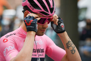 Foto  Marco Alpozzi/LaPresse  9 maggio 2021 Italia Sport Ciclismo Giro d'Italia 2021 – edizione 104 – Tappa 2 – Da Stupinigi (Nichelino) a Novara (km 179) Nella foto: GANNA Filippo (ITA) (INEOS GRENADIERS)   Photo  Marco Alpozzi/LaPresse May 09, 2021  Italy   Sport Cycling Giro d'Italia 2021 – 104th edition – Stage 2 – from Stupinigi to Novara  In the pic: GANNA Filippo (ITA) (INEOS GRENADIERS)