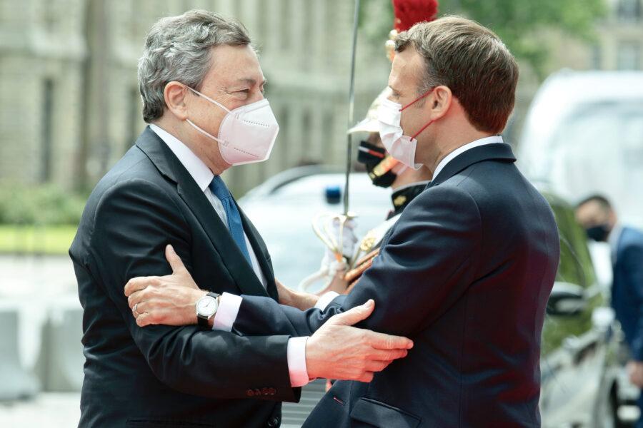 Draghi e Macron lanciano il new deal per l'Africa, mentre Salvini sbraita sull'immigrazione…
