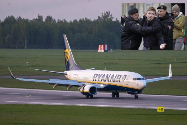 """Volo Ryanair dirottato per arrestare un dissidente, l'ordine di Lukashenko: """"A bordo agenti del Kgb bielorusso"""""""