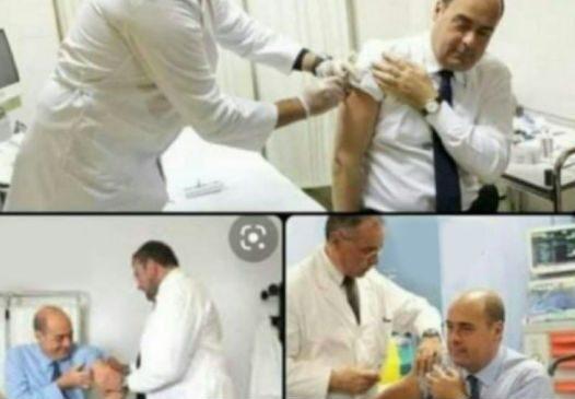 Zingaretti e la fake news dei no vax: ecco la verità e le foto