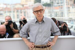 PHOTOPQR/NICE MATIN ; Festival international du film de Cannes 2016, photocall du film Cafe Society de Woody Allen Woody Allen69th annual Cannes Film Festival in Cannes, France, May 2016. The film festival will run from 11 to 22 May. LE 11 05 2016PHOTO : Sebastien Botella MaxPPP/LaPresseOnly Italy