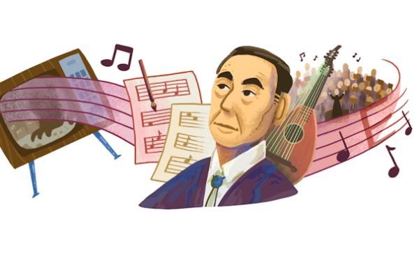 Akira Ifukube, chi è il compositore giapponese celebrato da Google