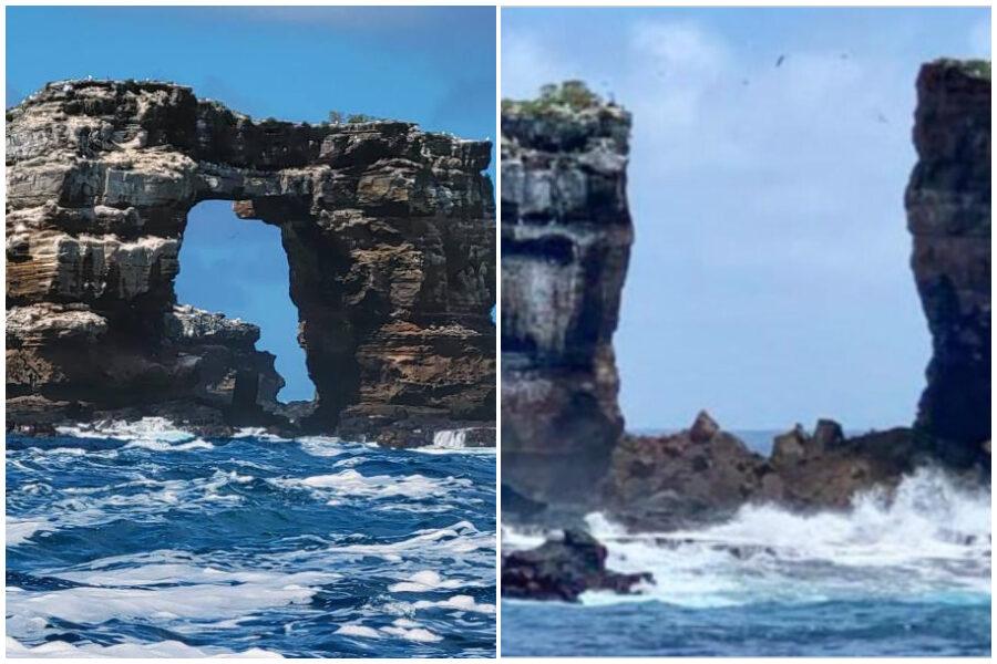 Crolla l'Arco di Darwin, l'erosione distrugge la celebre attrazione naturale patrimonio Unesco