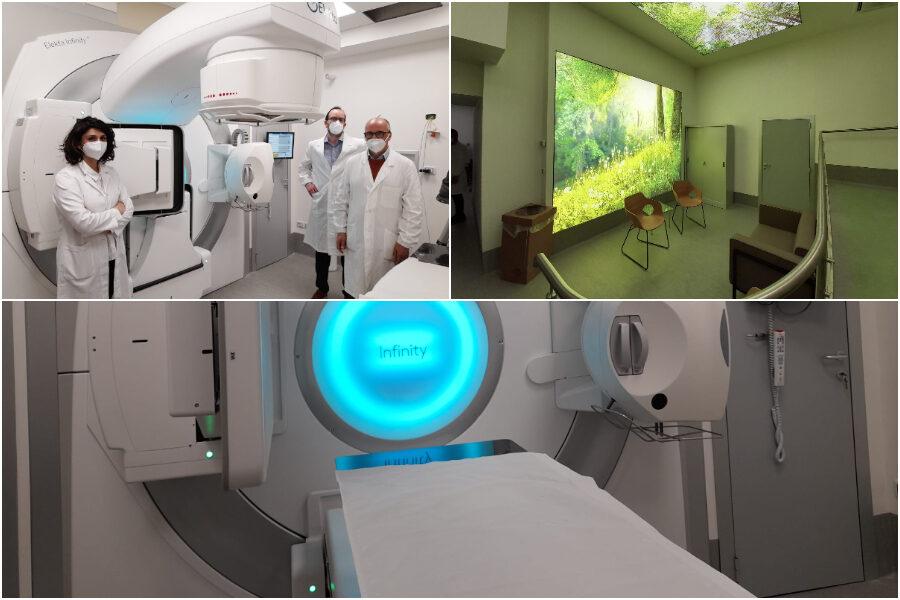 Acceleratore lineare per la Radioterapia e ambulatorio per i pazienti oncologici al Policlinico Vanvitelli