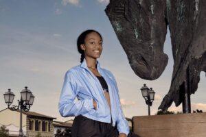 Larissa Iapichino ambassador della moda: parola d'ordine sostenibilità e legami con il territorio