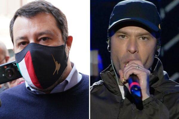 La polemica con Fedez affossa Salvini: la Lega crolla nei sondaggi a vantaggio di Fratelli d'Italia