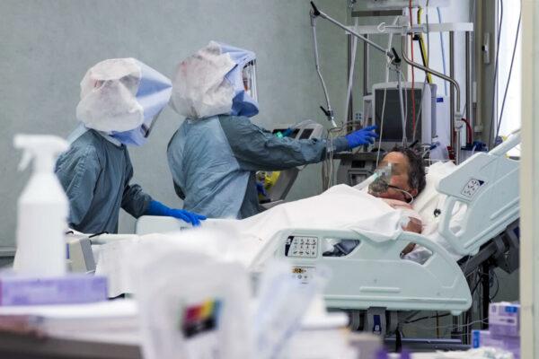 Covid, la terapia intensiva dello Spallanzani
