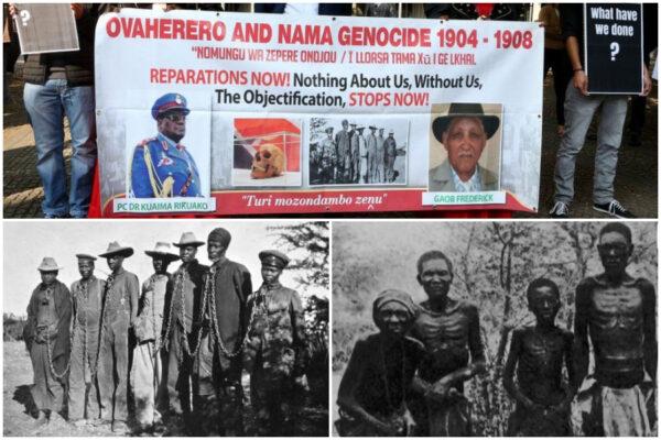 La Germania ammette di essere colpevole del genocidio in Namibia